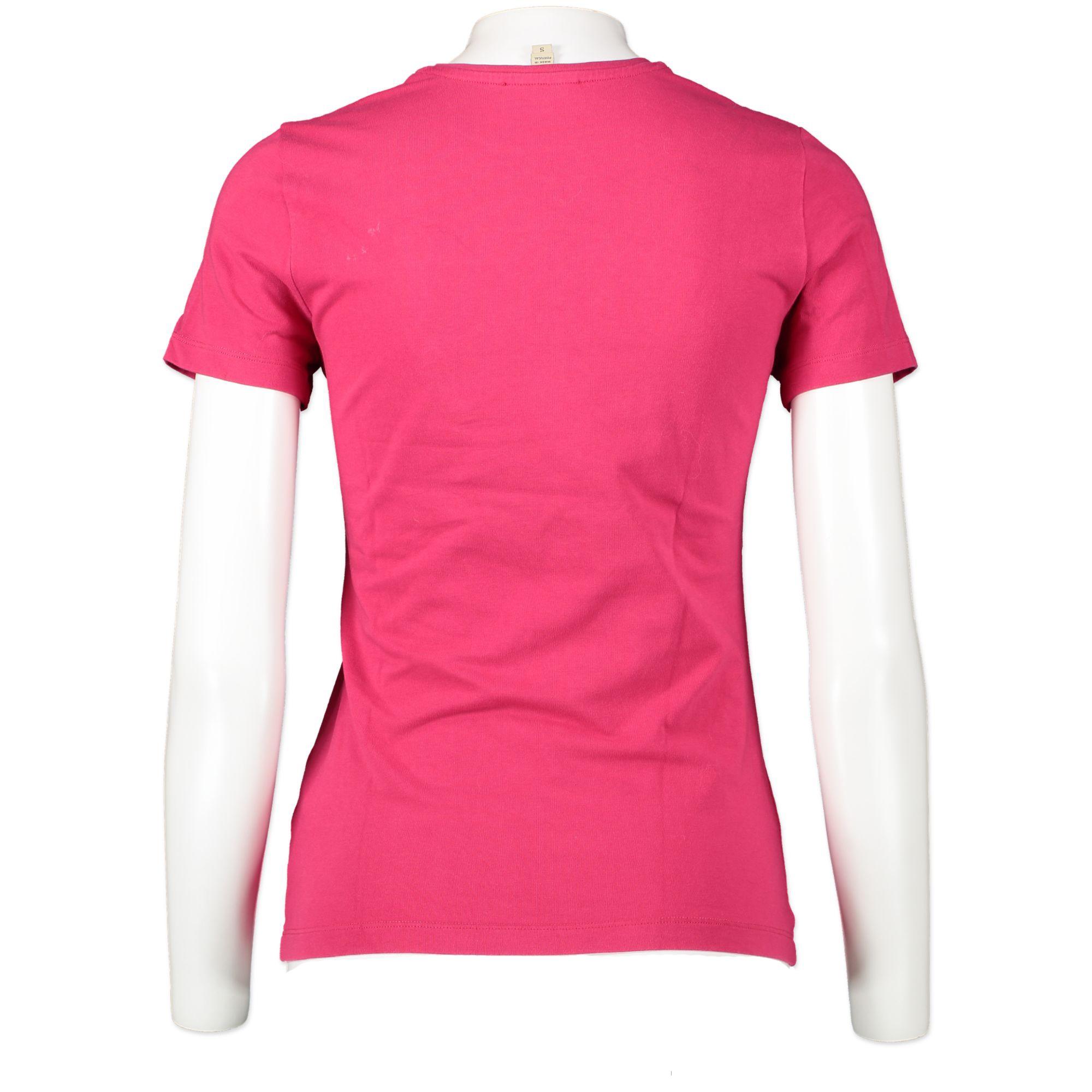 746 Burberry rhinestone tshirt pink