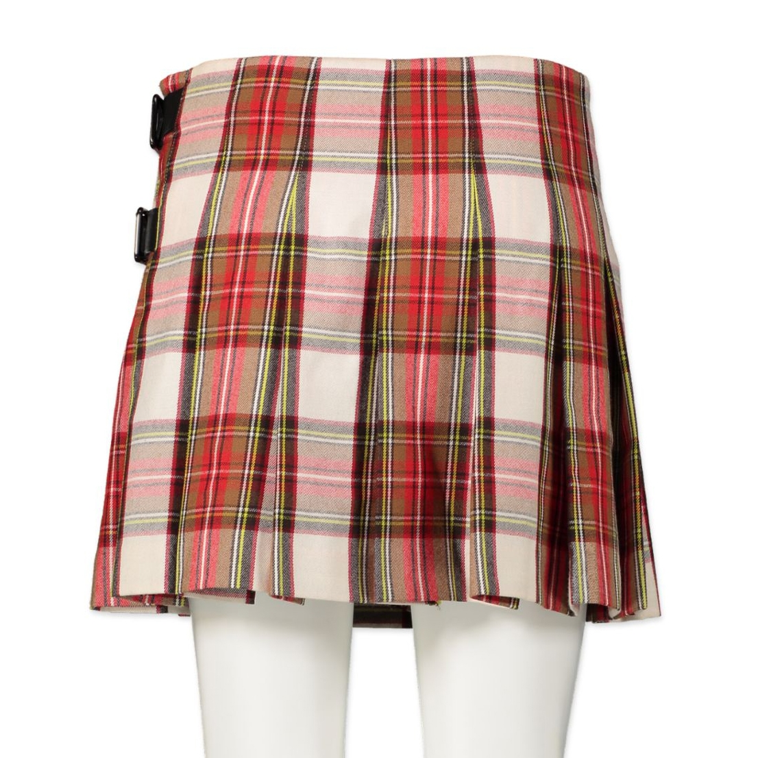 Burberry Red Nova Check Skirt - size 34