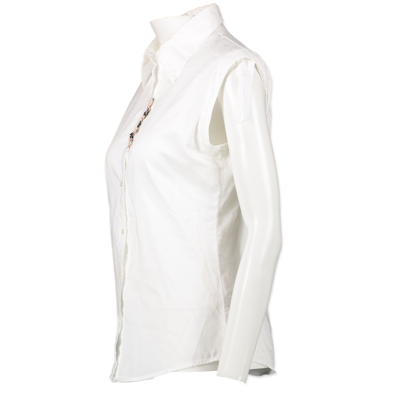 Burberry White Blouse - Size 14+