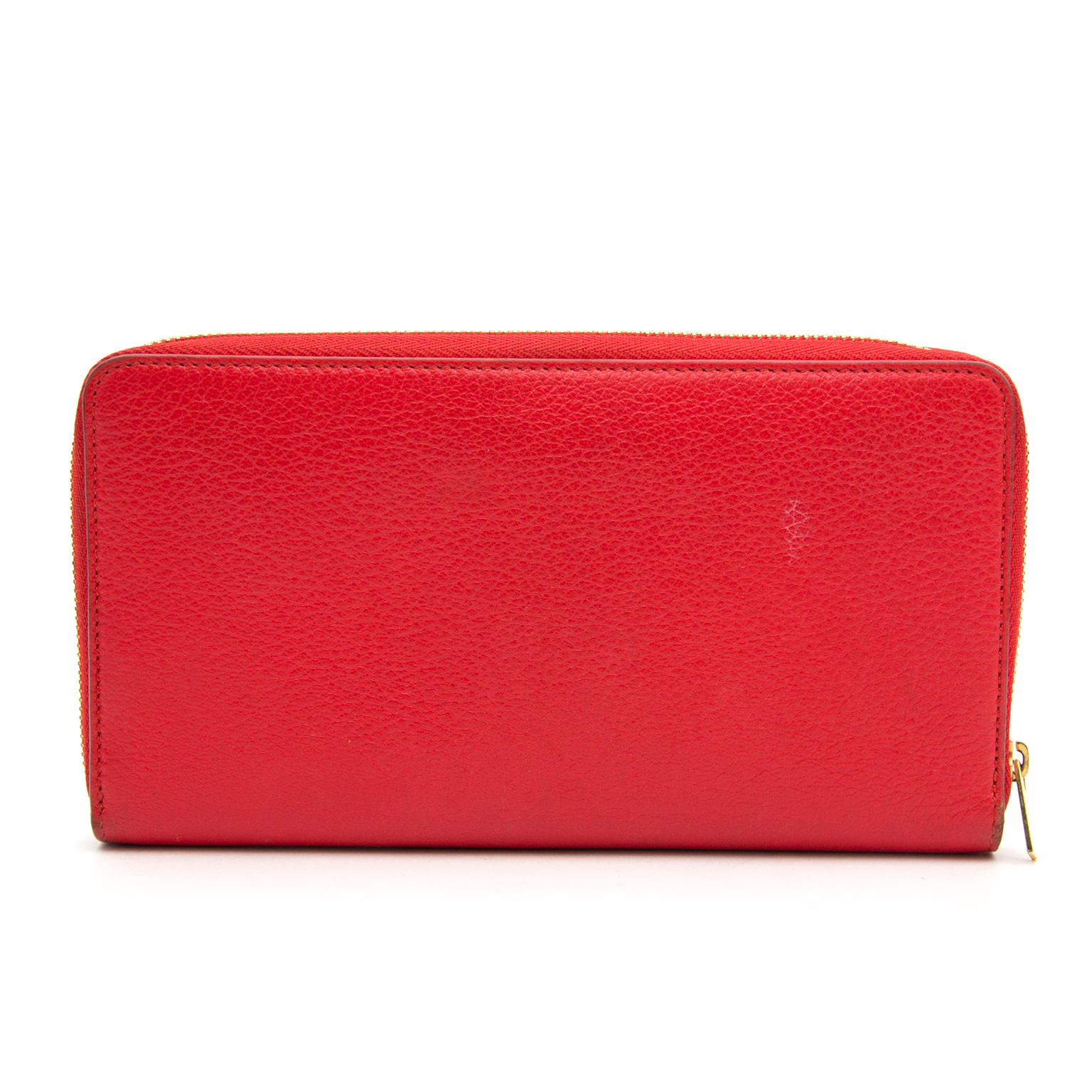 Buy Céline Red Zipped Multifunction Wallet at the right price at Labellov.com