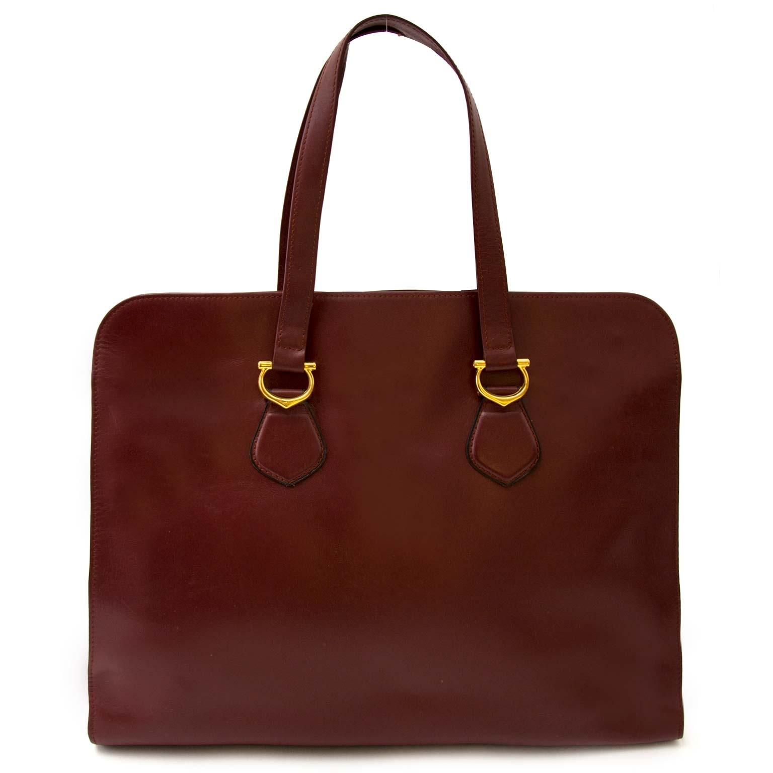 achetez Cartier Burgundy Shopper  chez labellov pour le meilleur prix