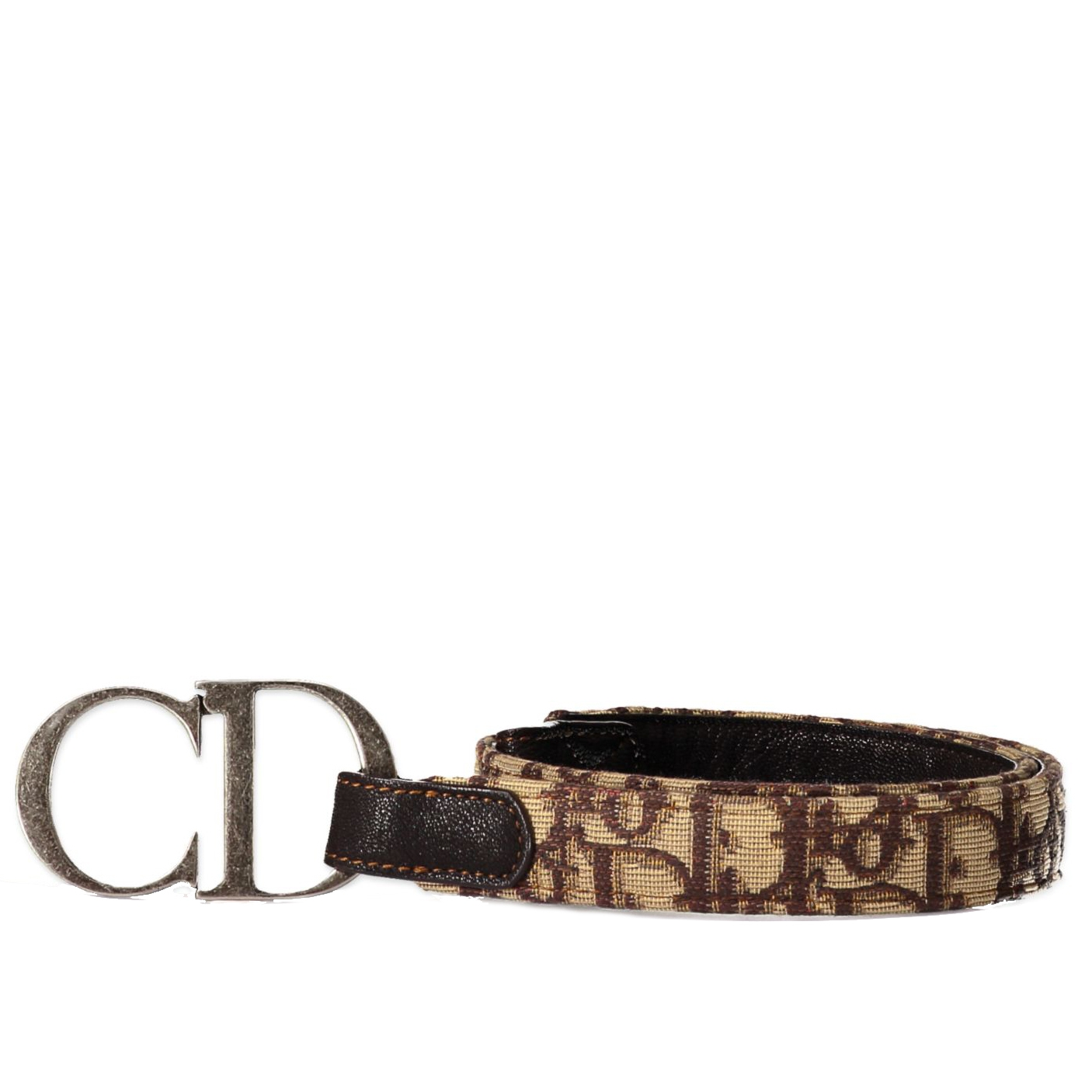 Christian Dior Brown Diorissimo CD Belt