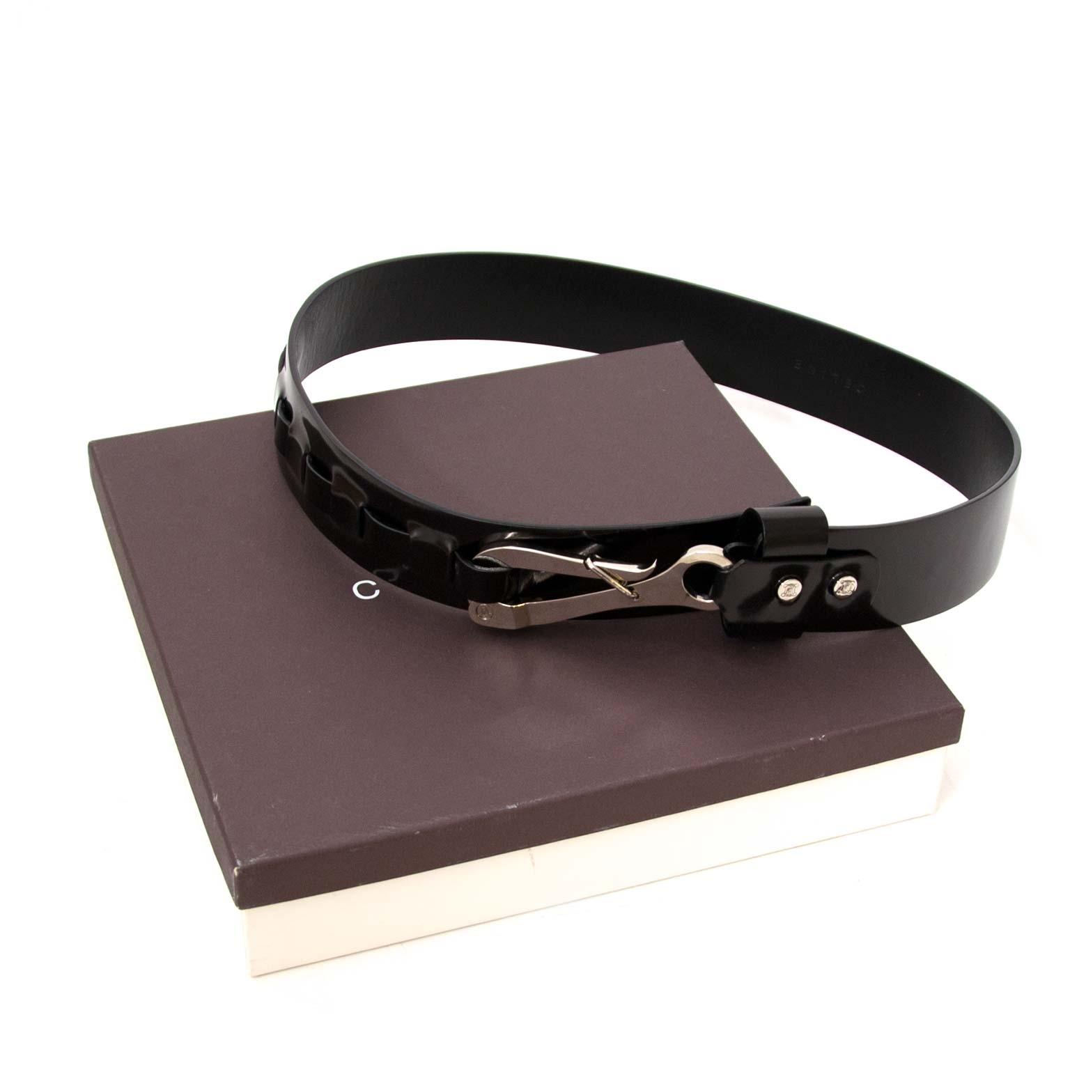 acheter en ligne seconde main Celine Black Belt