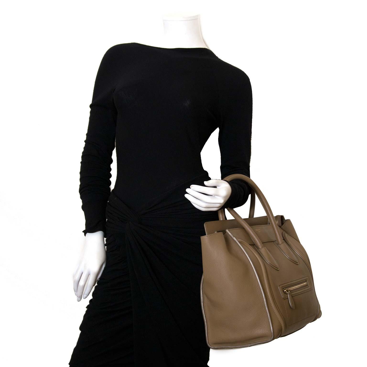 achète des sacs authéntiques de céline phantom à labellov vintage webshop de mode