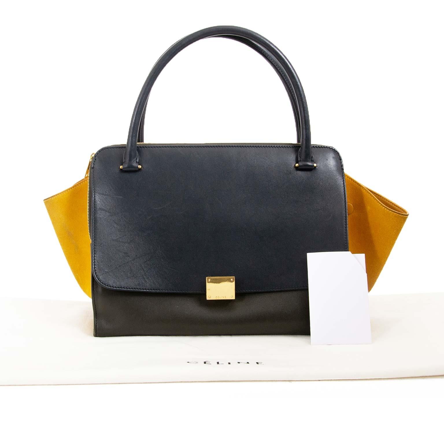 Koop en verkoop authentieke designer handtassen Céline Multicolor Double Zipper Bag