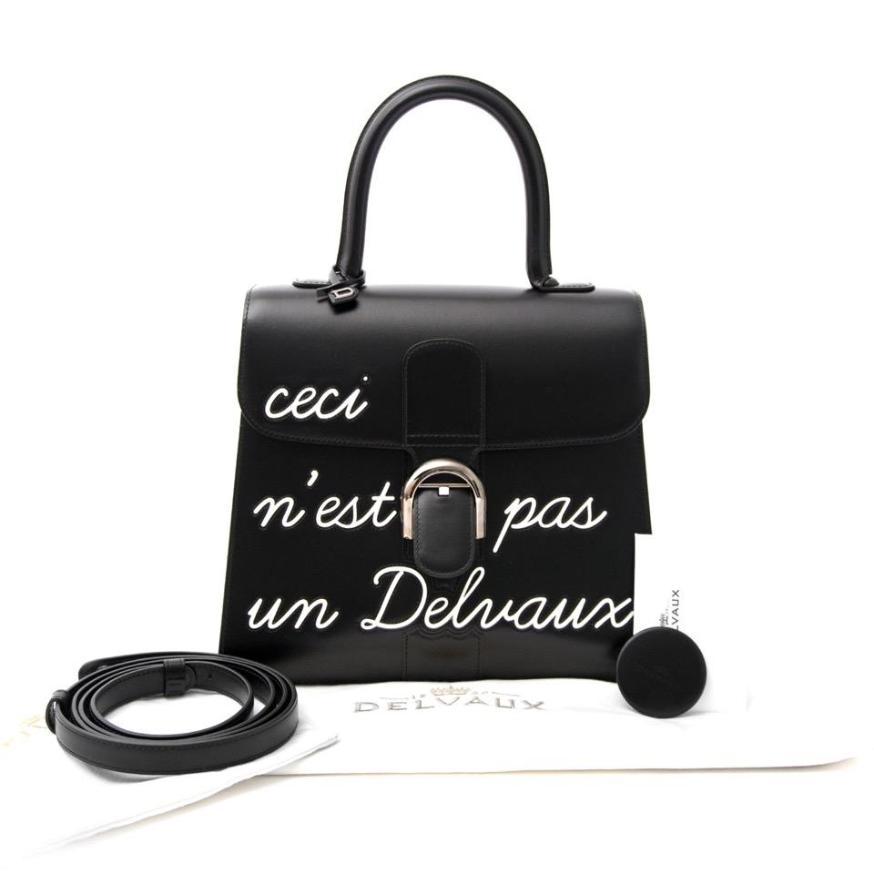 acheter en ligne neuf authentic sac a main  Delvaux L'Humour Brillant MM