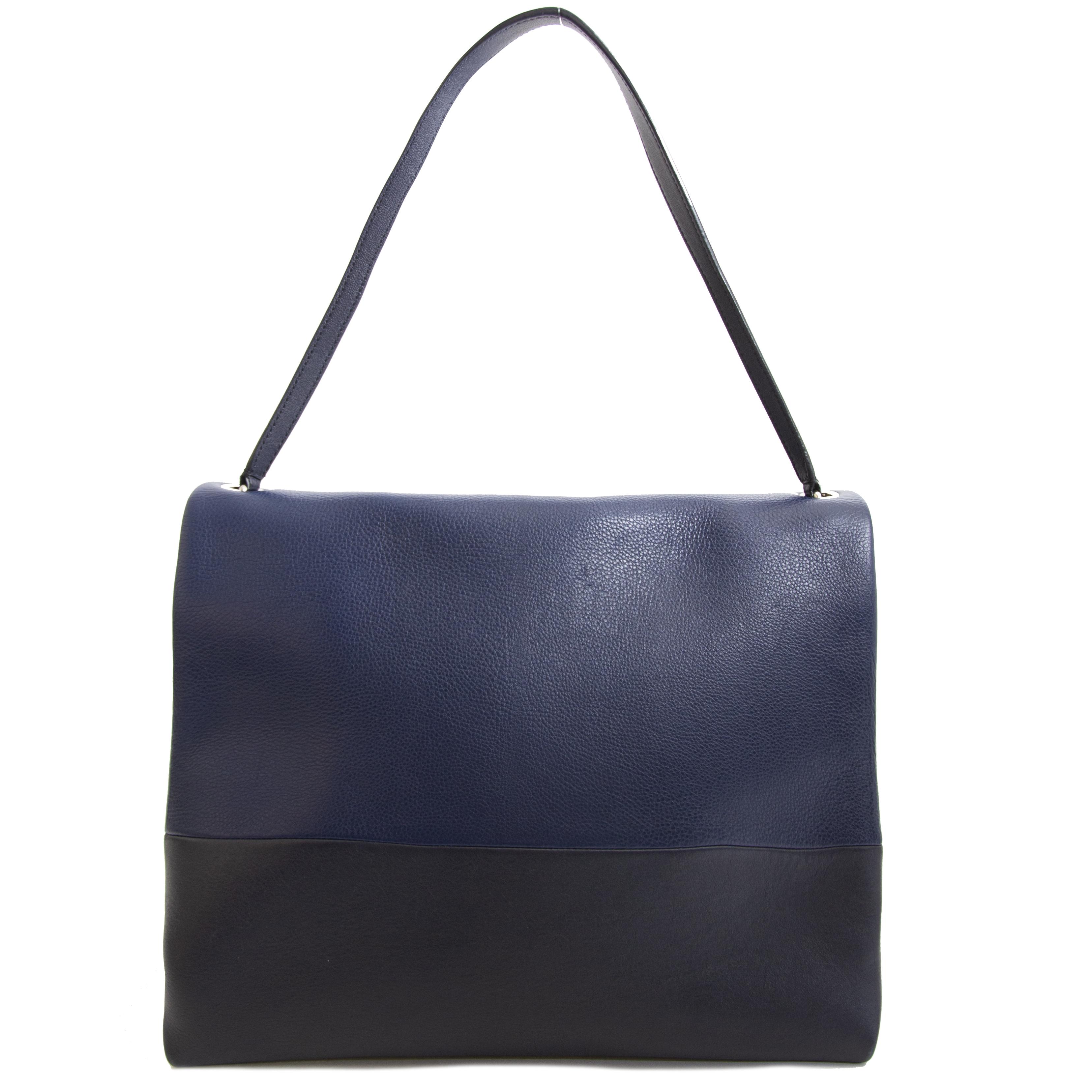 Authentic secondhand Celine Duotone Shoulderbag LabelLOV right price online shopping LabelLOV