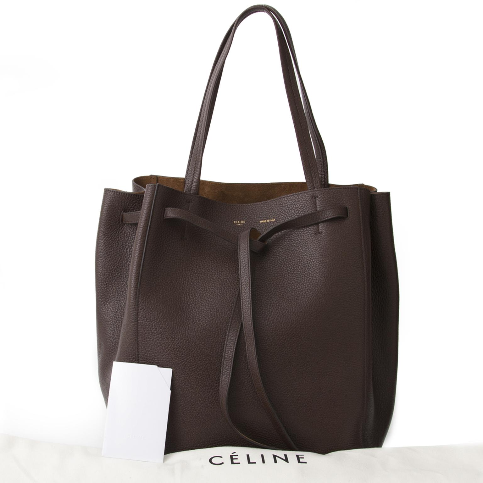 646ff6fa63 ... Celine Cabas Phantom Chocolat Brown best price online webshop labellov .com