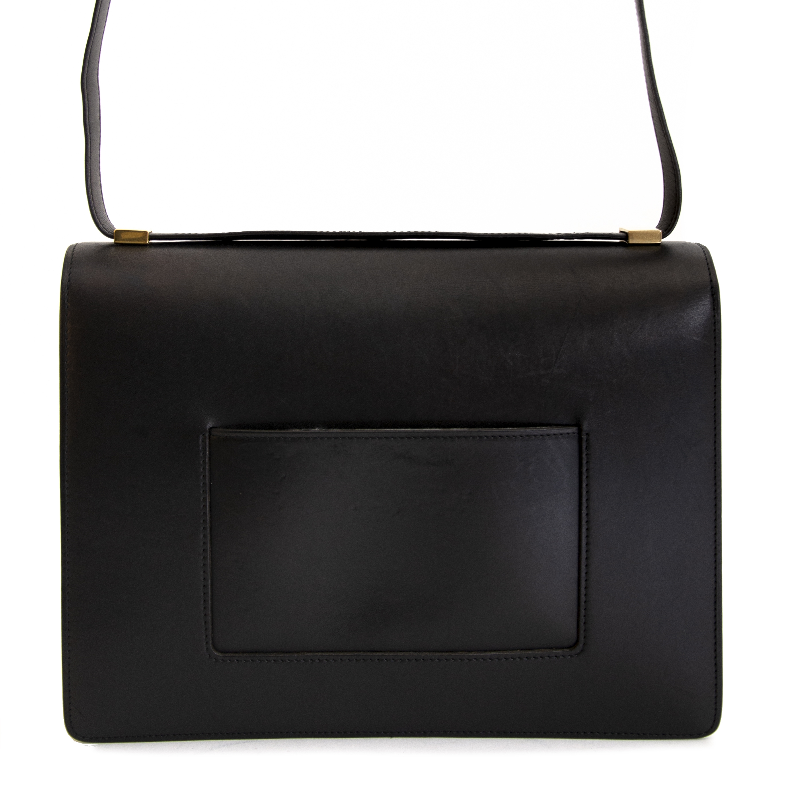 Buy authentic second hand vintage Céline Classic Box Handbag Duotone at online webshop LabelLOV