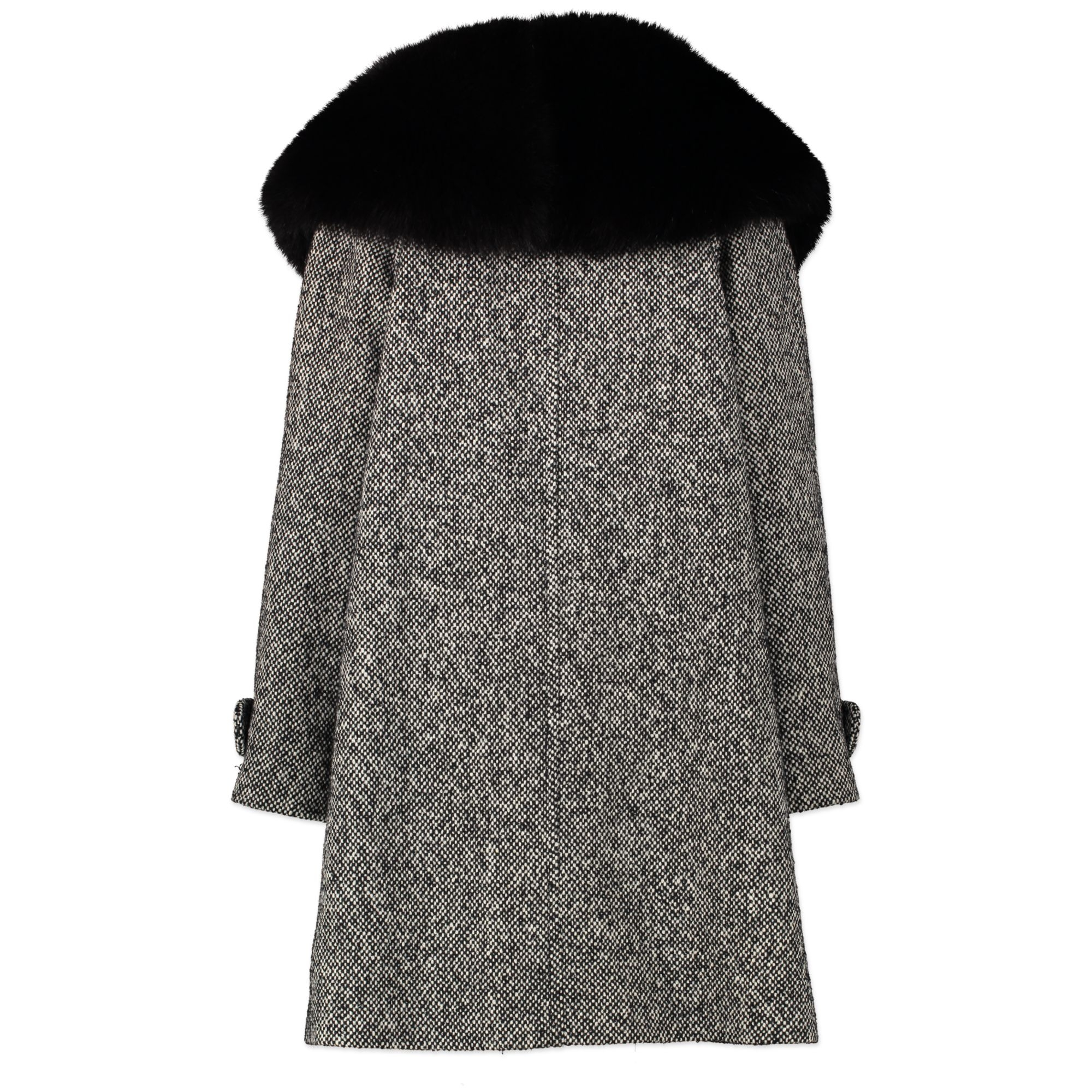 Celine Wool-Mohair Knee-Length Coat te koop aan de beste prijs