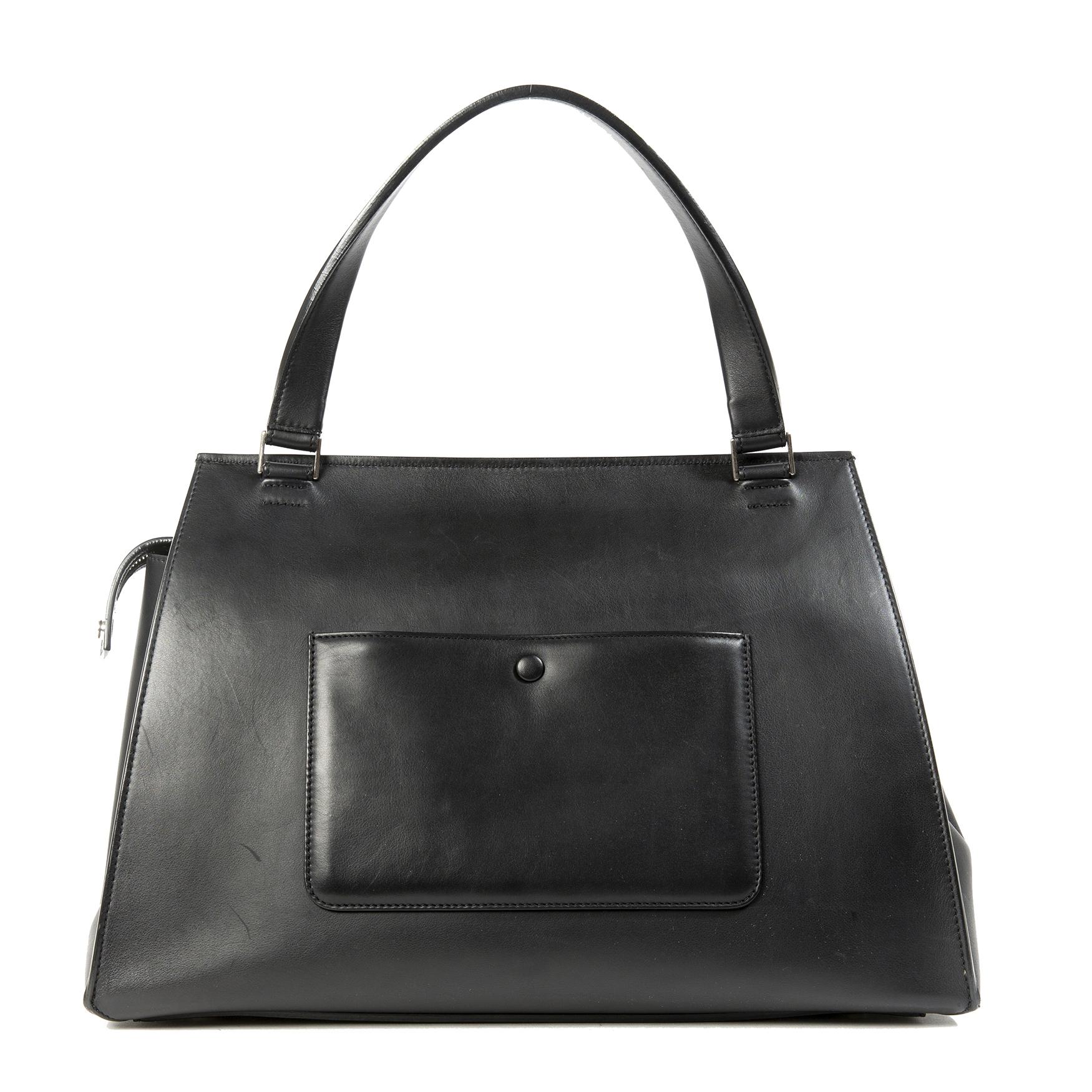 Bent u op zoek naar een authentieke Céline Grey Pony Hair Edge Bag?