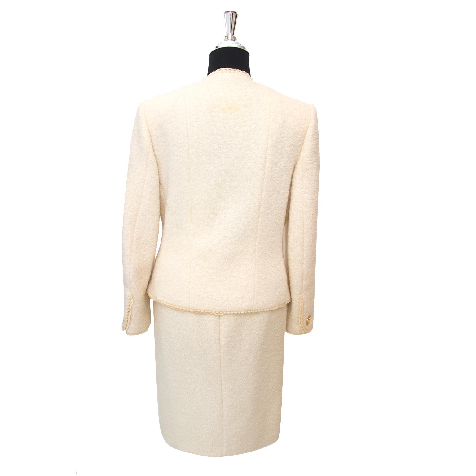 Looking for a Chanel Beige Bouclé Tailleur Set?