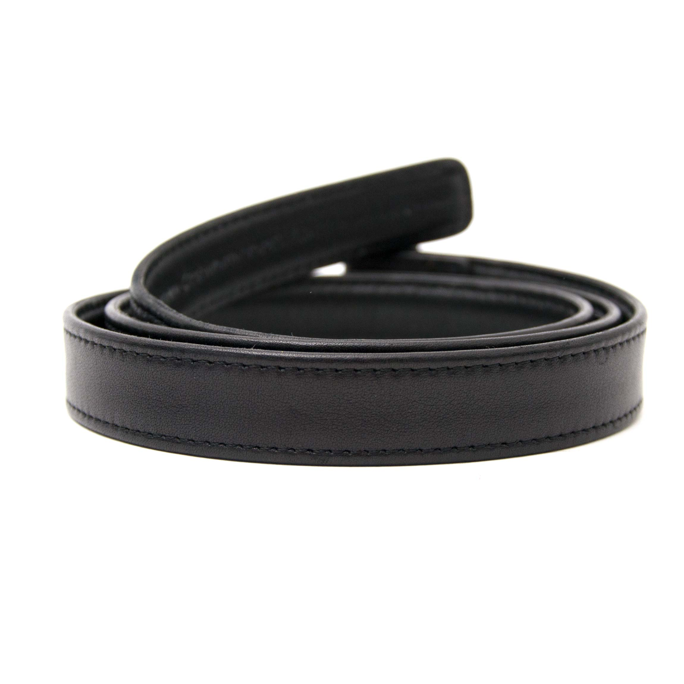 Buy now the Chanel Small Black Belt, worldwide shipping and safe secure shopping, 100% authentic.