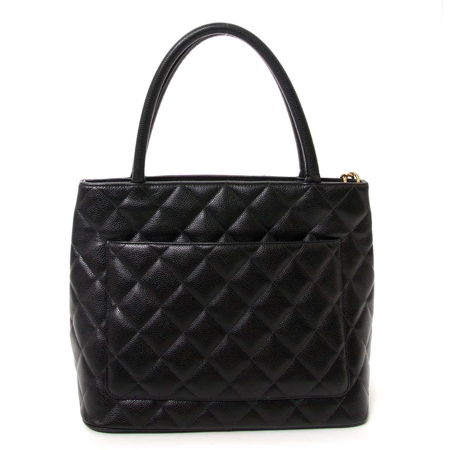 chanel grand cc classic black shopper now for sale at labellov vintage webshop belgium