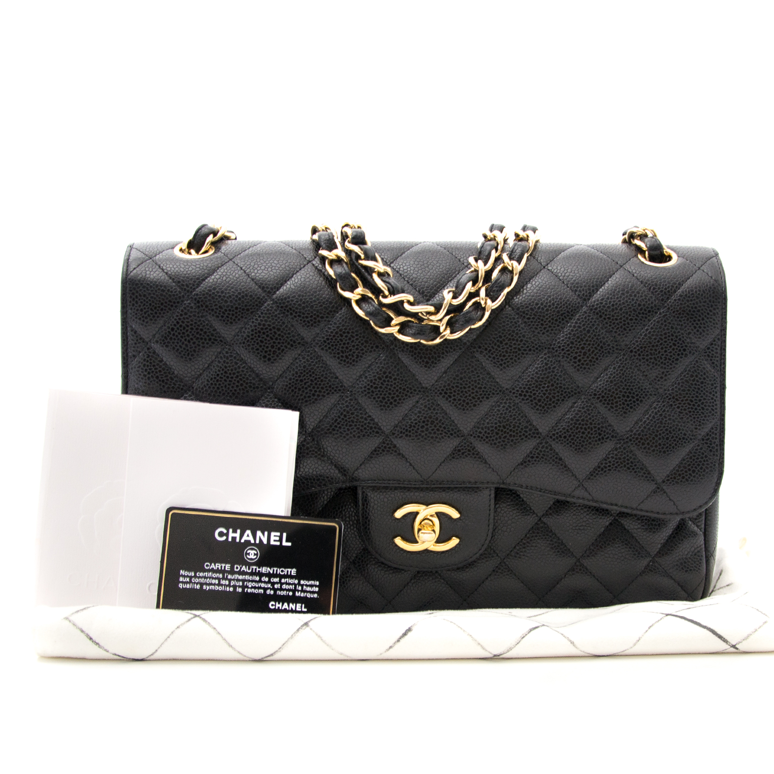 2c1a480fd16f26 ... Chanel classic flap bag now for the best price online at labellov.com
