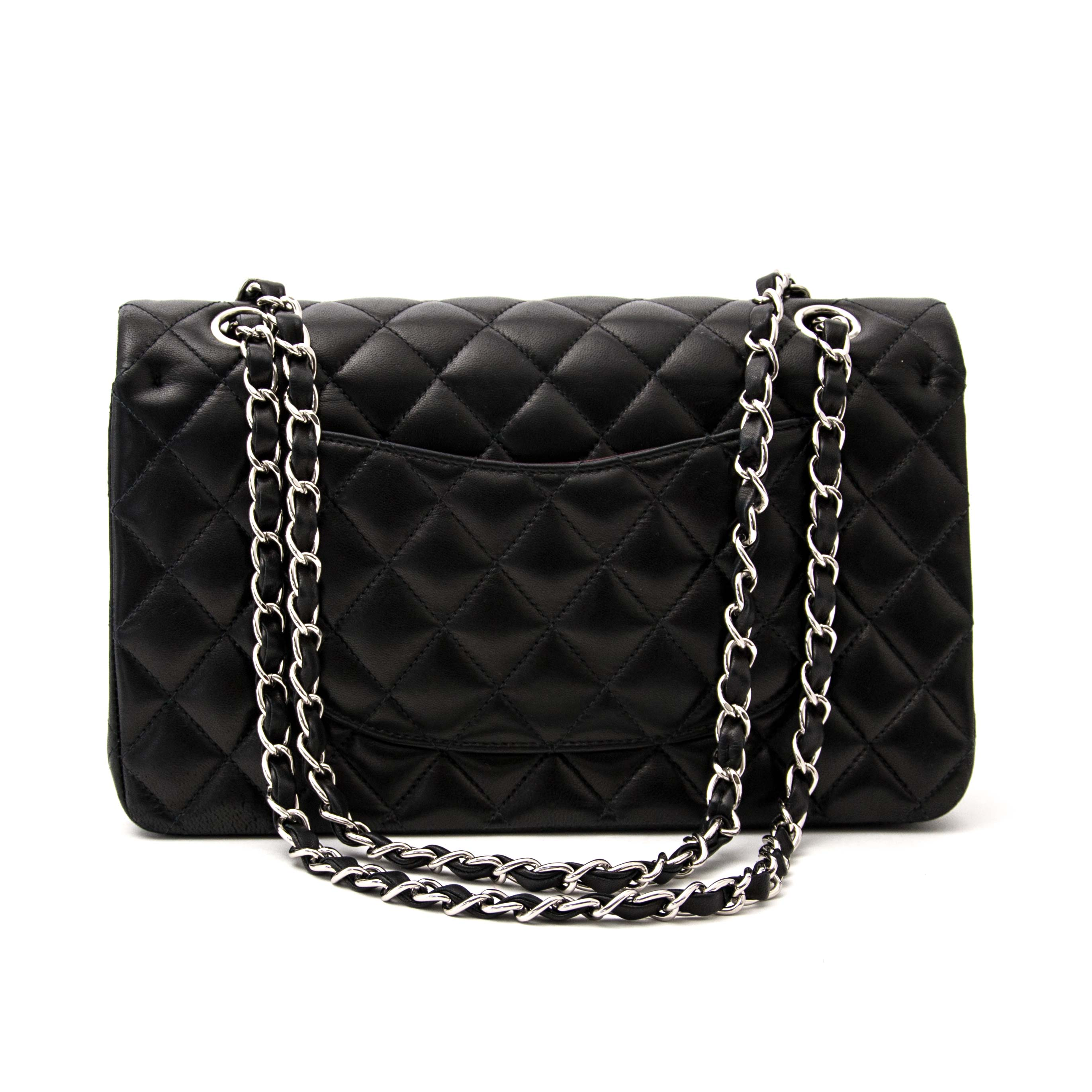 Chanel Classic Flap Bag Medium Calfskin PHW for sale online