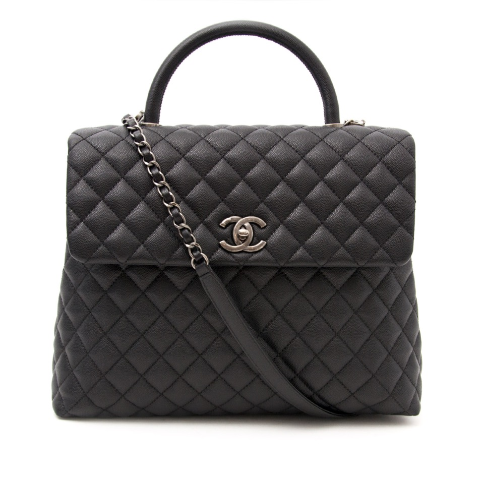 ... shop your christmas gift for the best price Brand New Chanel Coco Top  Handle Bag Quilted 09ea9dc60e754