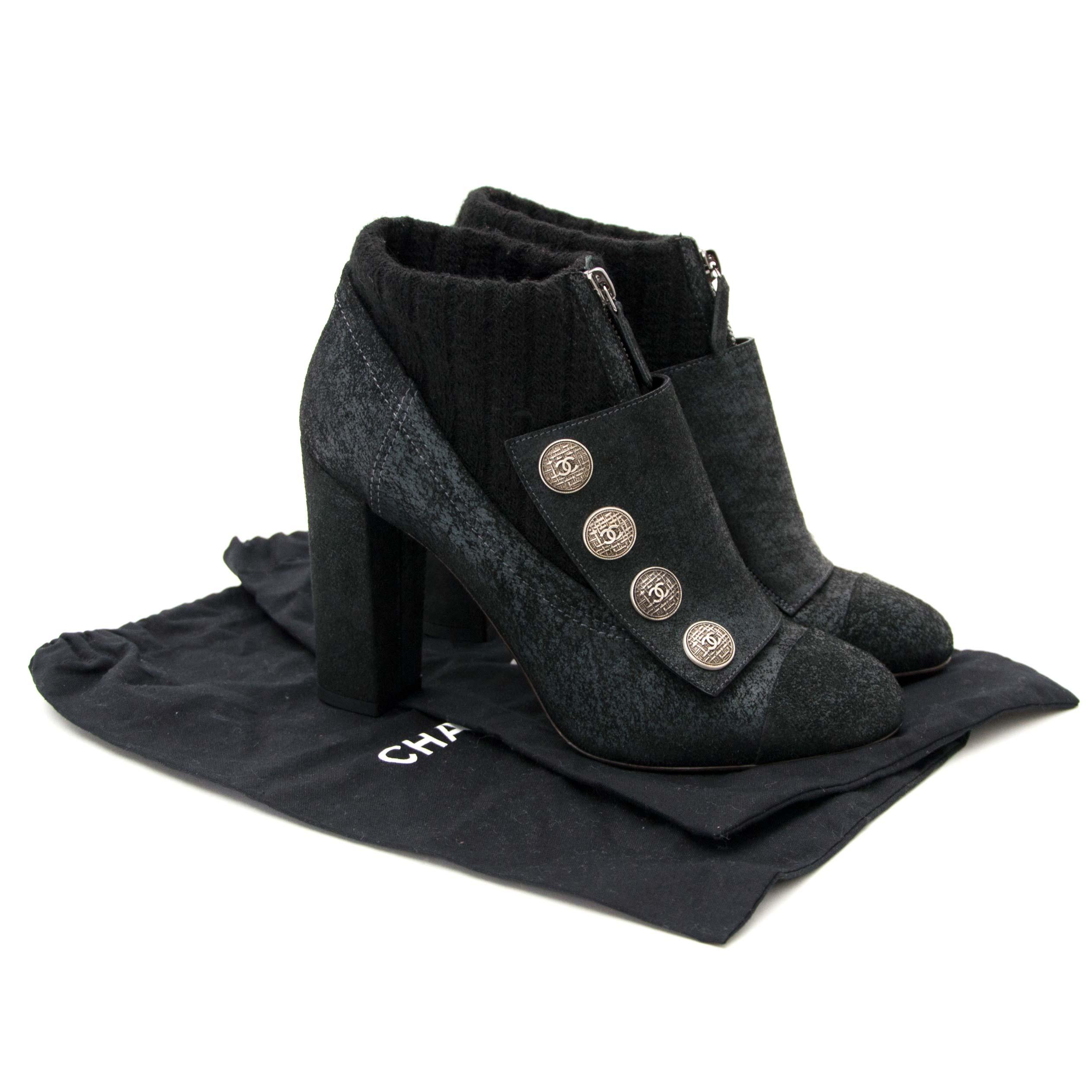 Acheter et vendre votre Chanel Sock Boots pour le meilleur prix chez Labellov à Anvers