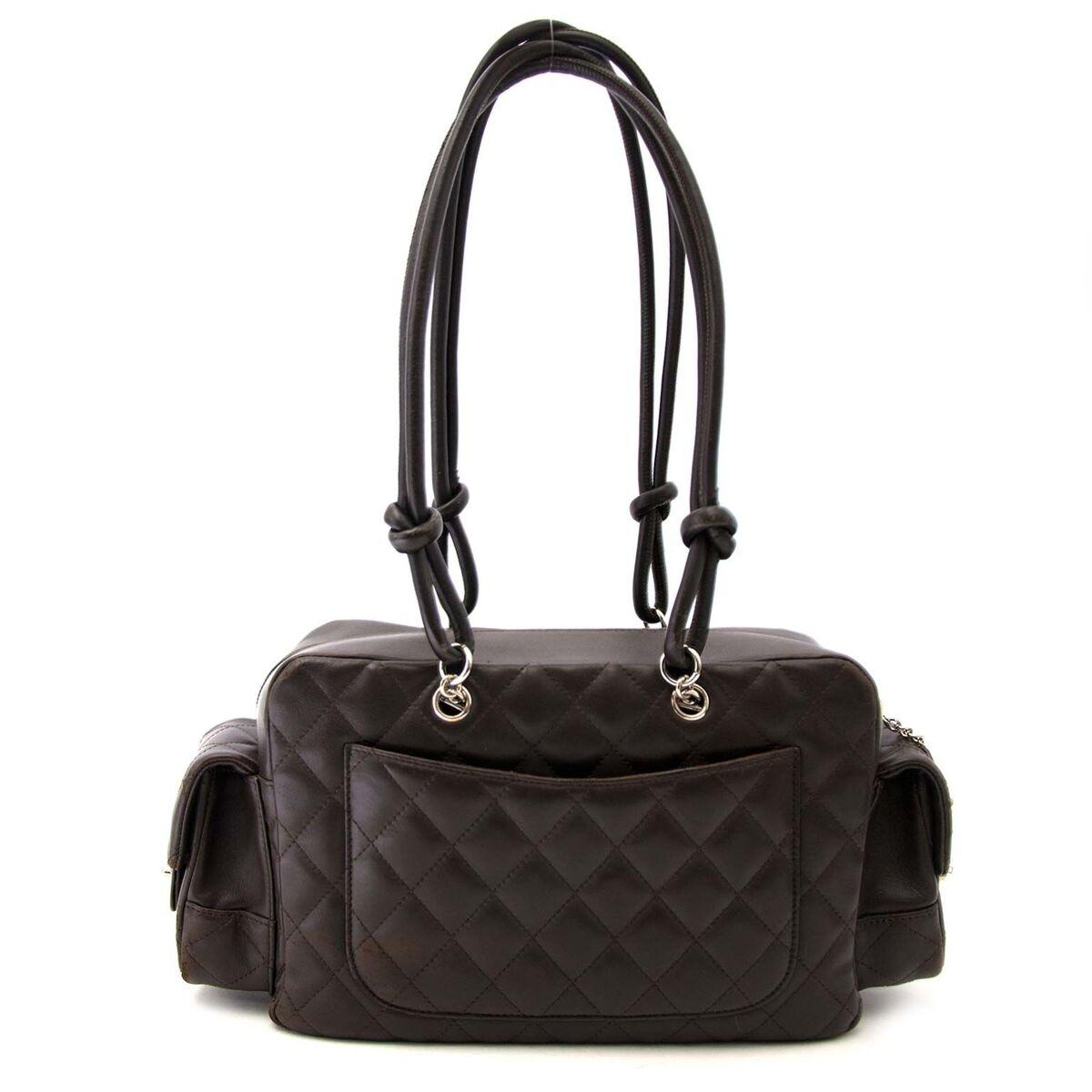 Koop authentieke tweedehands Chanel bruin zakken tas aan een eerlijke prijs bij LabelLOV. Veilig online shoppen.