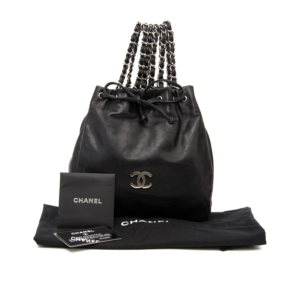 25aa2afca10a ... le meilleur prix Buy and sell your designer Chanel Limited Edition  Double Sided Evening Bag for the best price