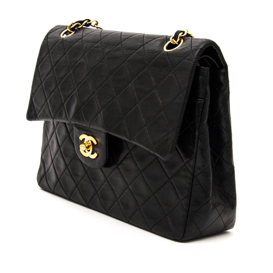 c337a4adedaf ... acheter en ligne vintage Chanel Vintage Classic Flap Bag pour le  meilleur prix