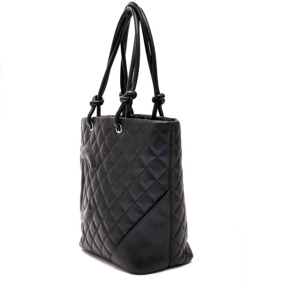 3fd114e2573f ... shop safe online at the best price chanel black cambon tote bag like  new webshop www