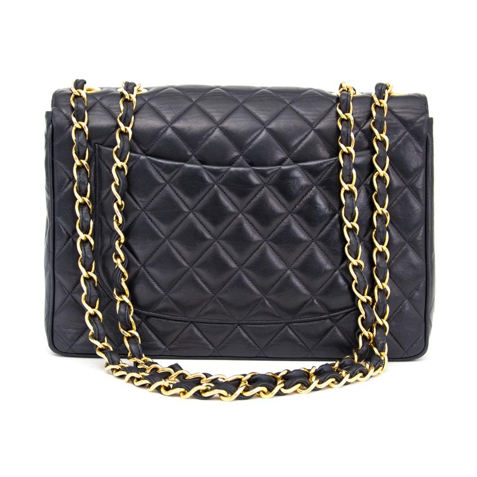 86d271b1cf6 ... koop veilig online aan de beste prijs Chanel vintage flap bag in  perfecte staat online webshop