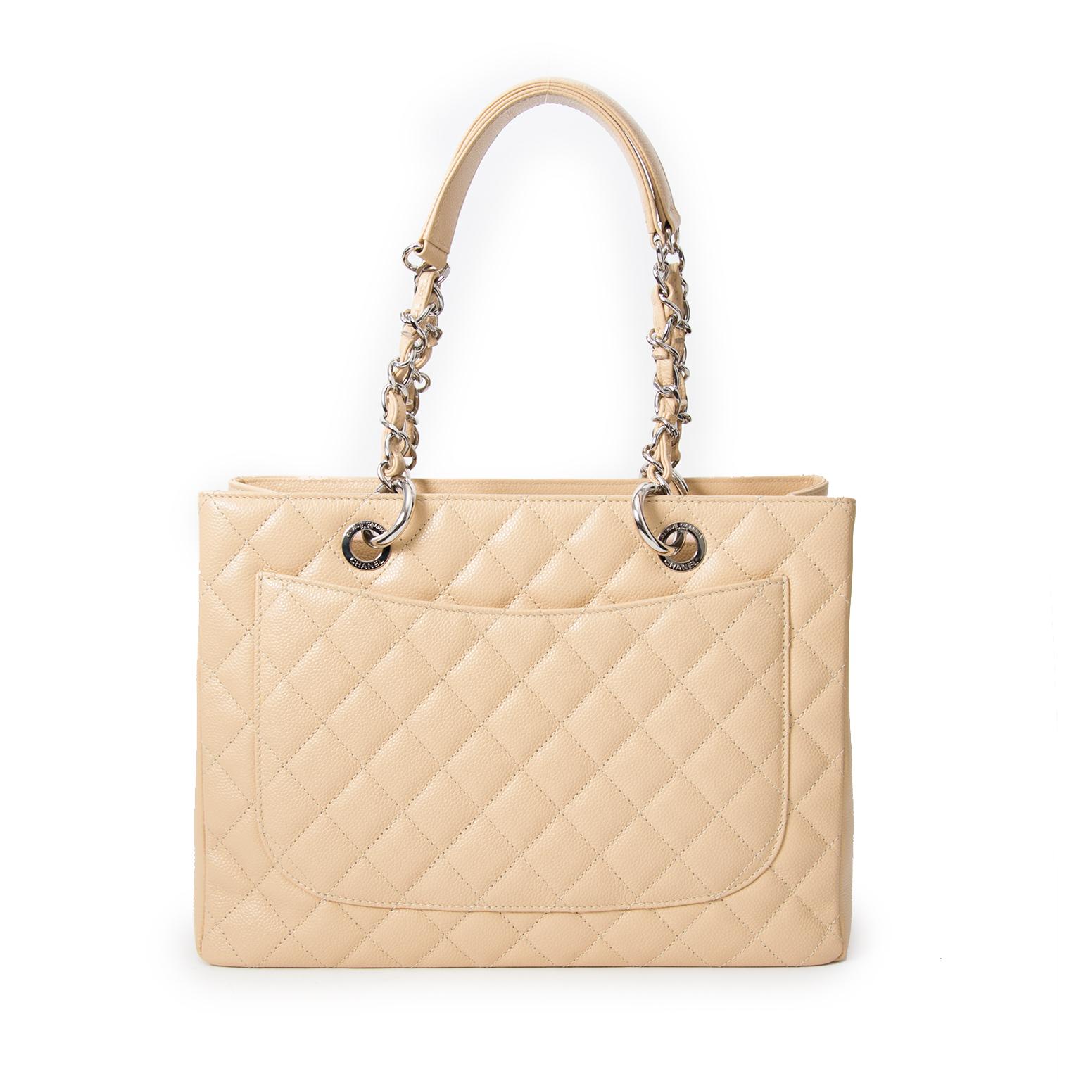 koop veilig online aan de beste prijs As New Poudre Chanel Grand Shopping Tote