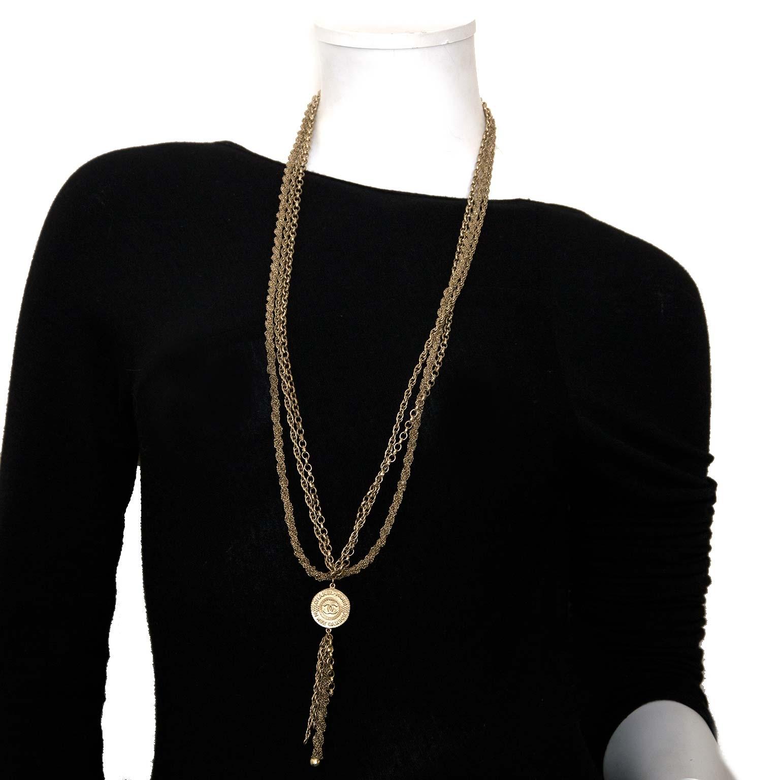 chanel kettingen te koop bij labellov vintage fashion webshop