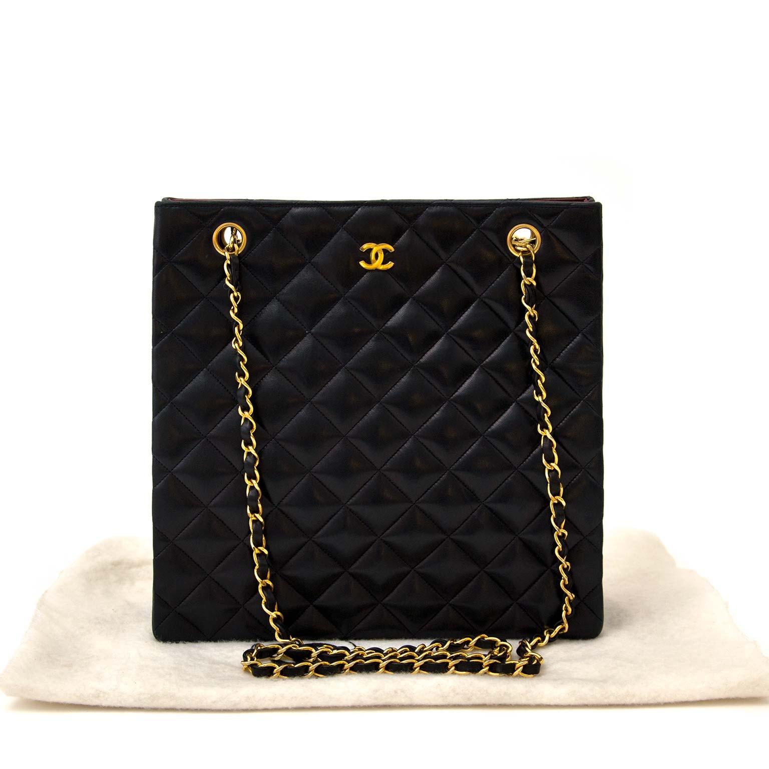 9fc1d77bc098e4 ... koop online aan de beste prijs tweedehands Chanel Vintage Classic  Shoulder Bag