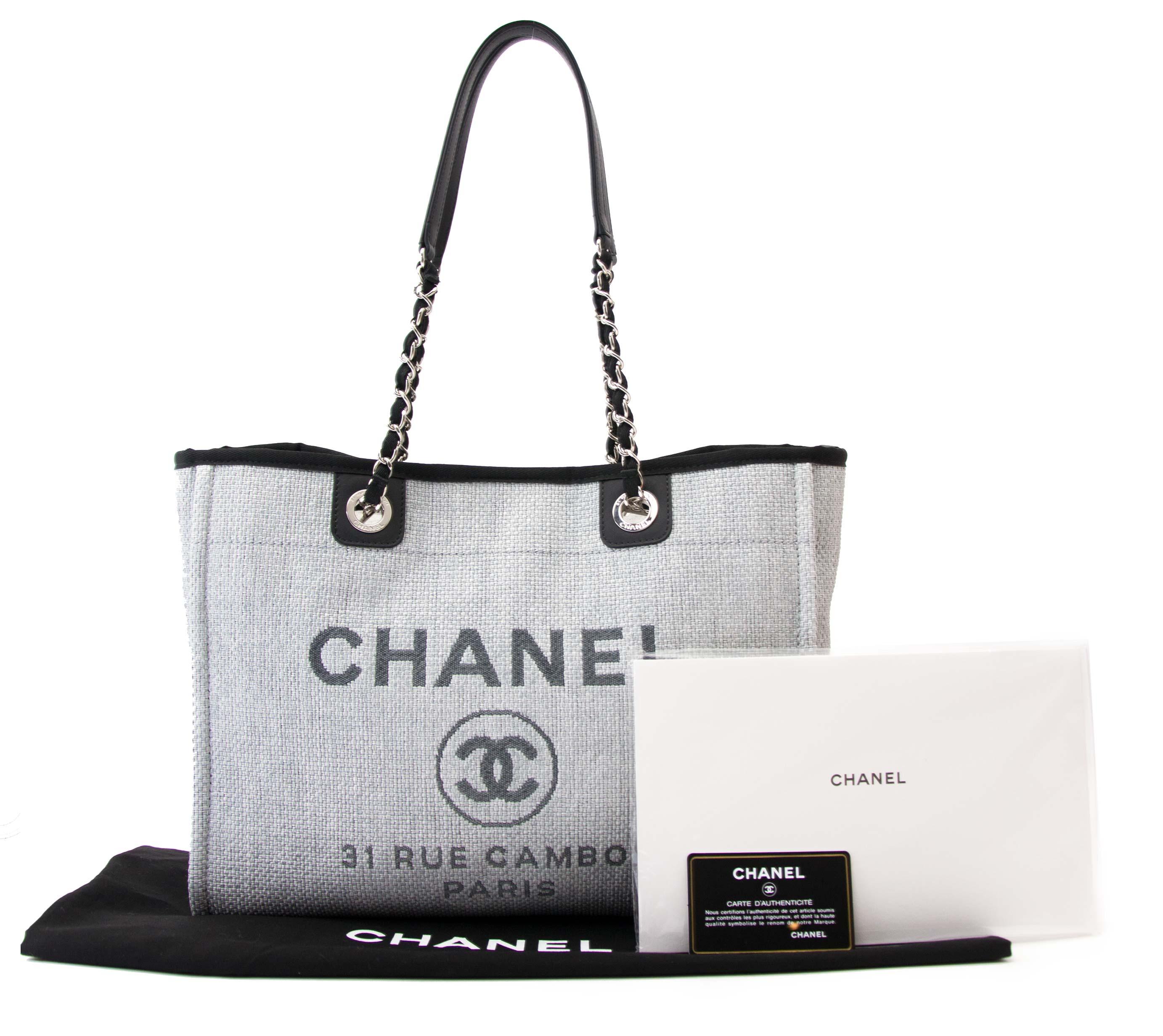 Acheter votre sac Chanel Deauville 31 Rue Cambon Tote Bag