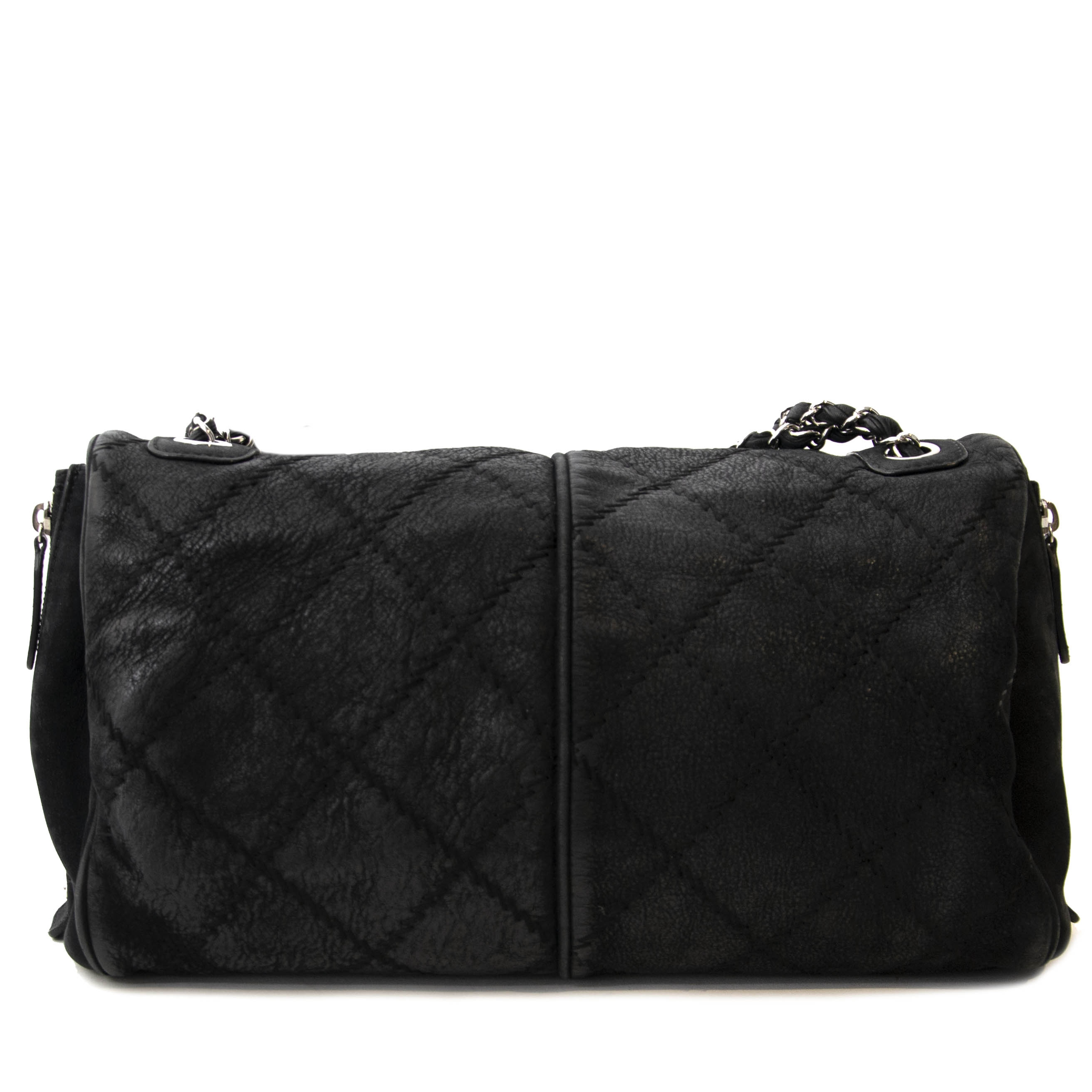 aa285c7a2ea3 ... achetez Chanel Black Quilted Leather Ultimate Stitch Flap Bag chez  labellov pour le meilleur prix