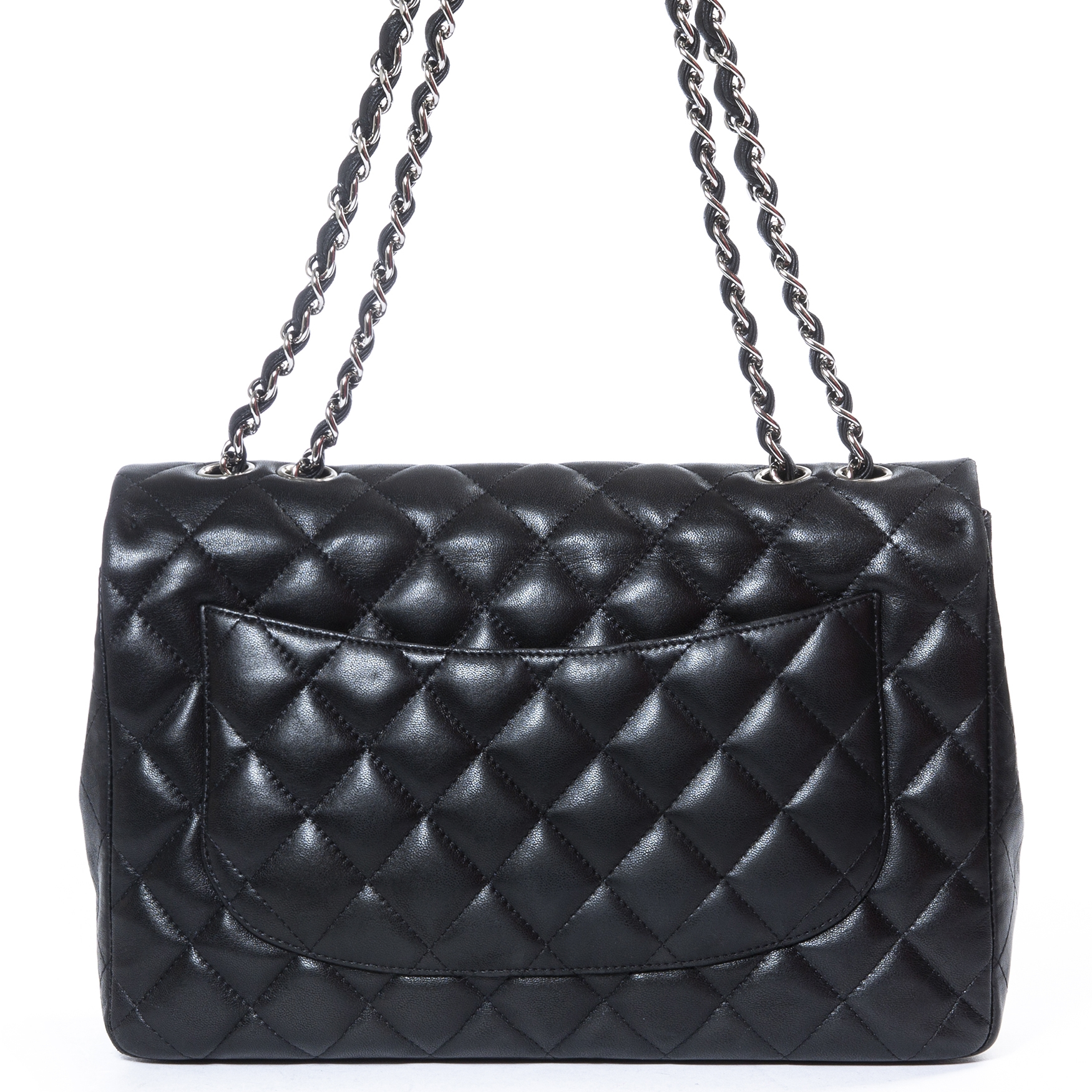 Buy and sell Chanel Black Caviar Leather Small Classic Flap Bag PHW