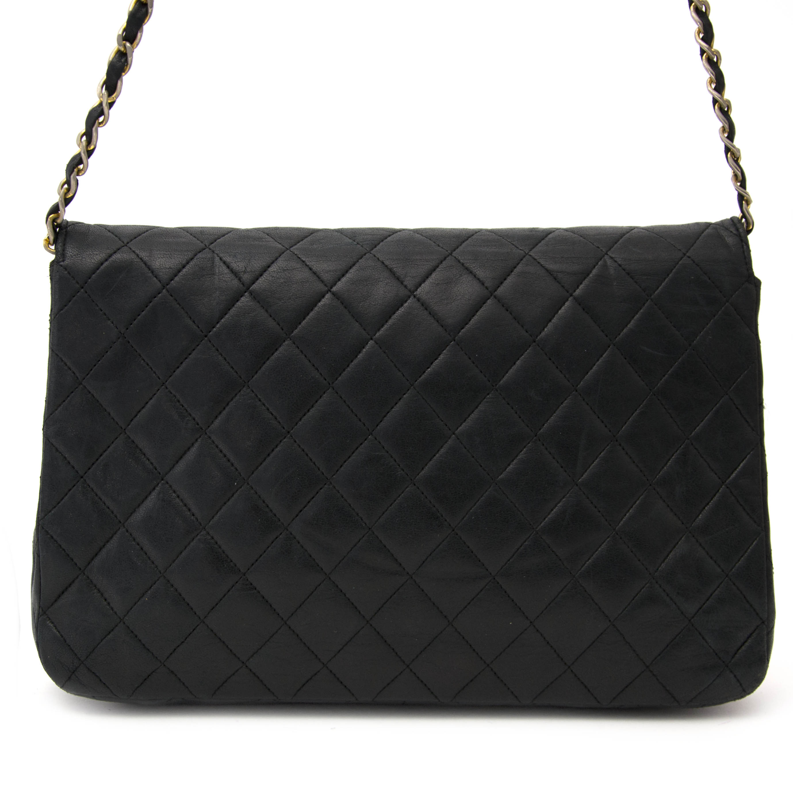 2f05c2fee3d2e3 ... Buy your authentic Chanel Vintage Black Quilted Shoulder Bag for the  best price