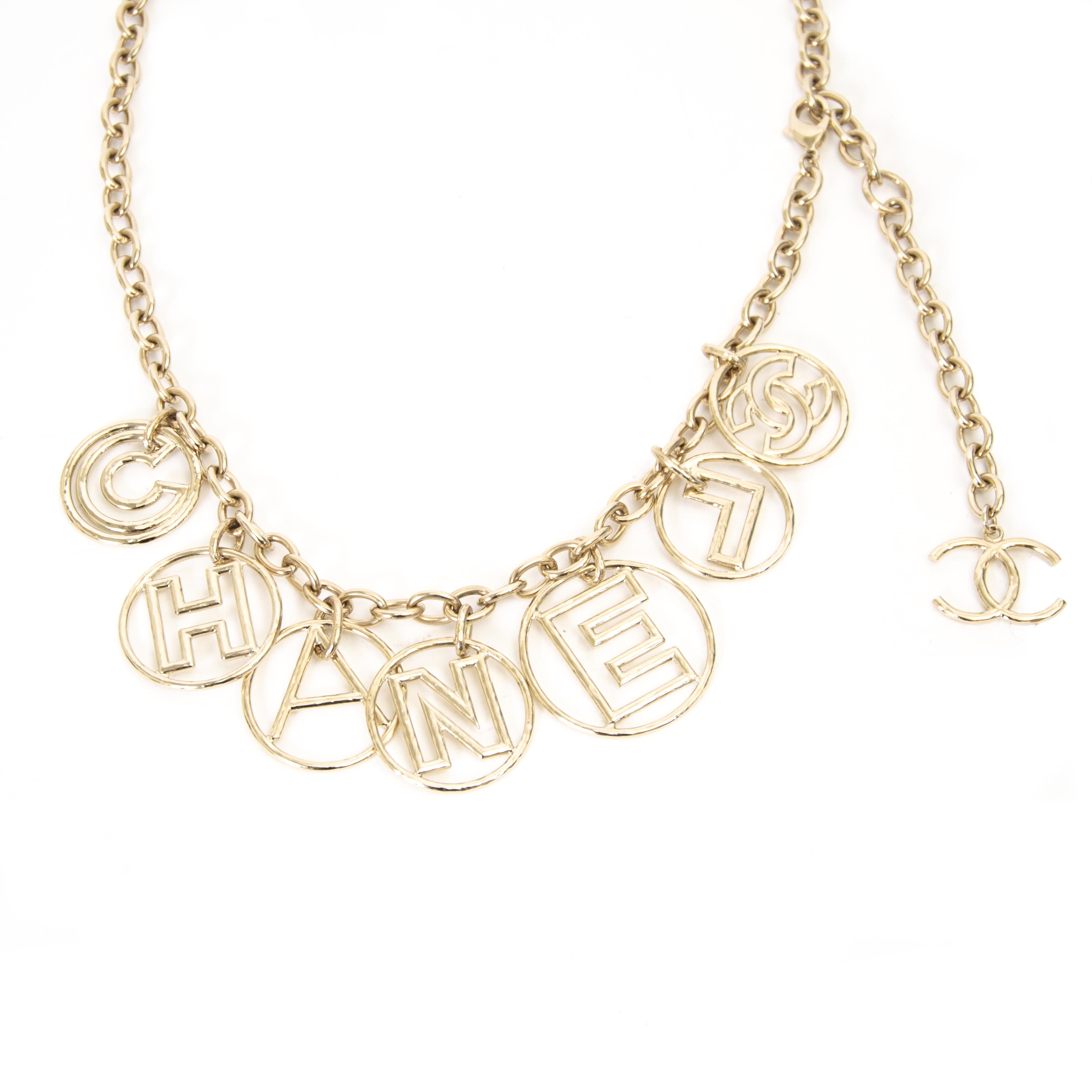 Chanel Logo Chain Belt kopen en verkopen aan de beste prijs