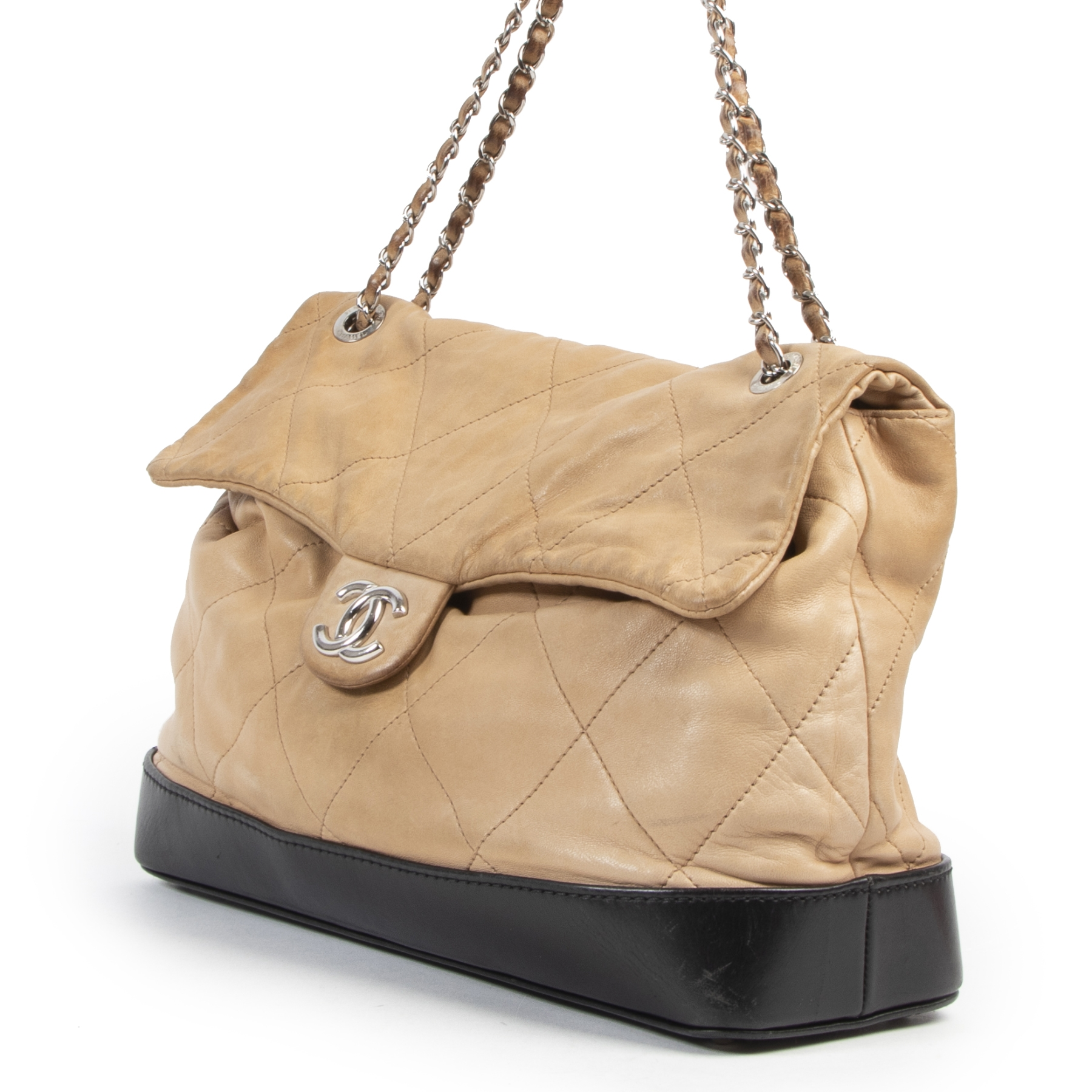 Chanel Classic Brown Rabat Shoulder Bag