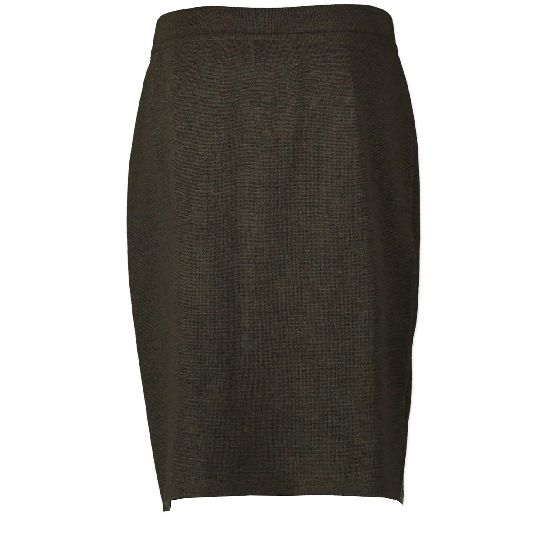 Koop Chanel Kaki Green Skirt aan de juiste prijs in alle veiligheid LabelLOV luxe merken webshop Antwerpen België