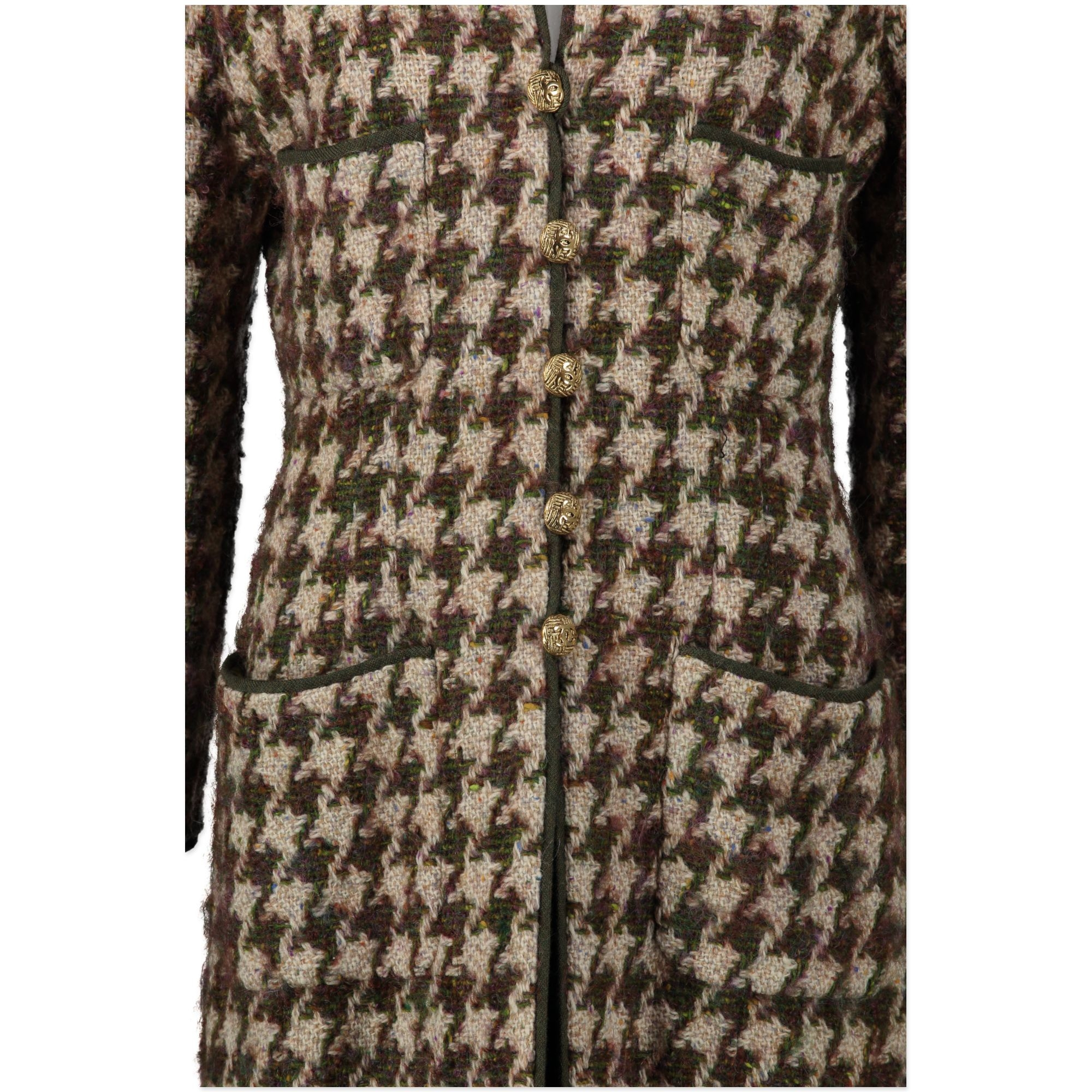 acheter en ligne seconde main Chanel Multicolor Tweed Jacket