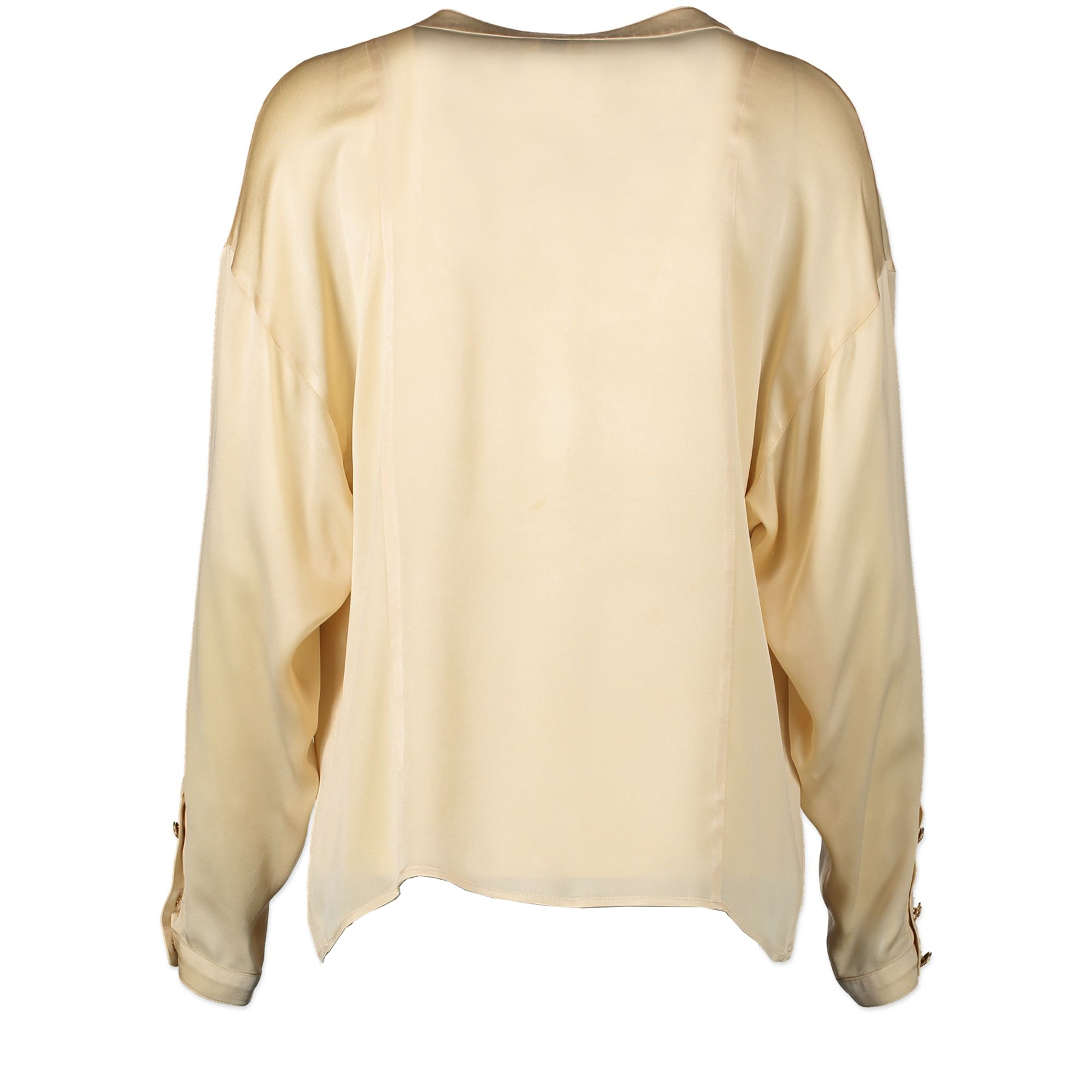Chanel Silk Cream Blouse