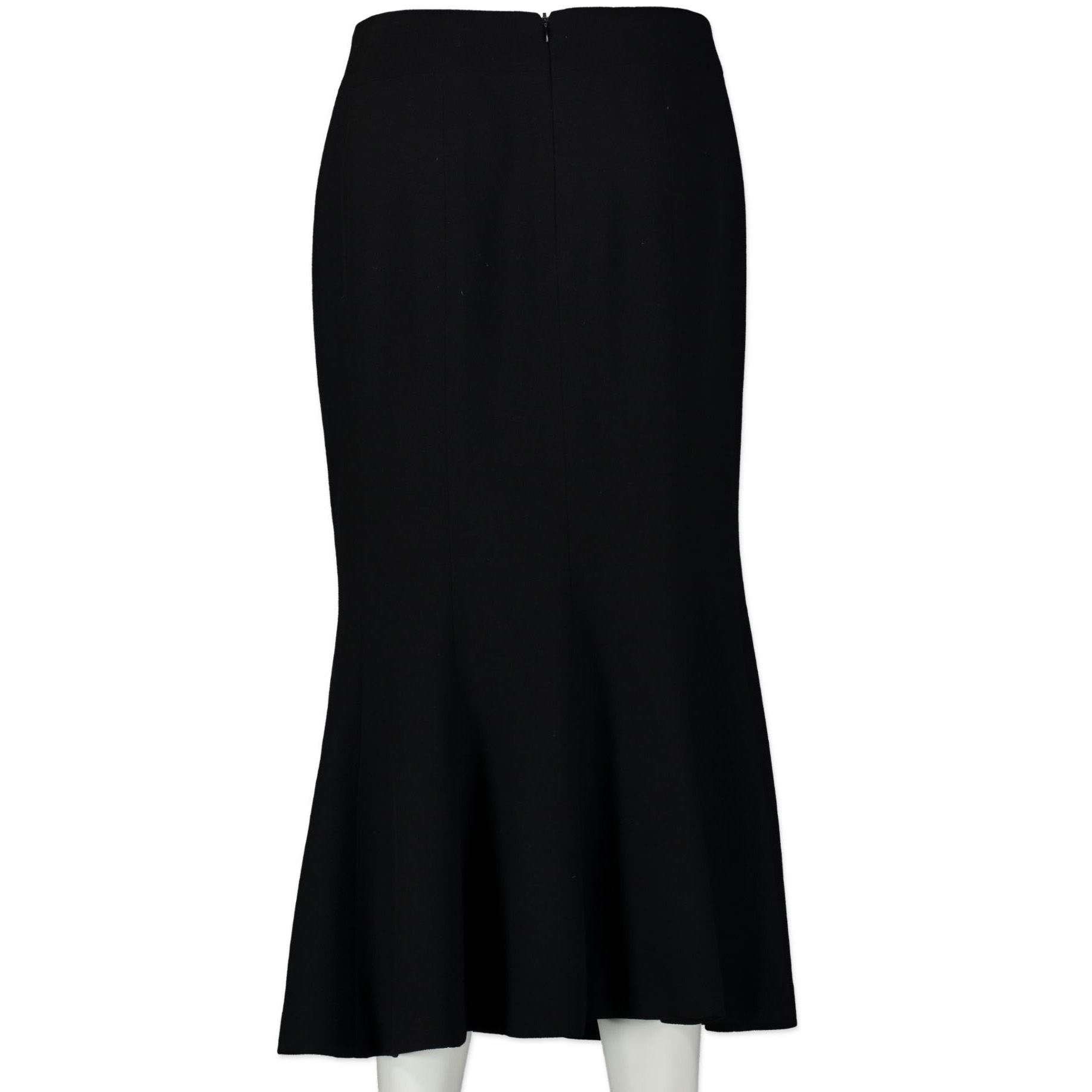 Chanel Black Midi Skirt - size FR42
