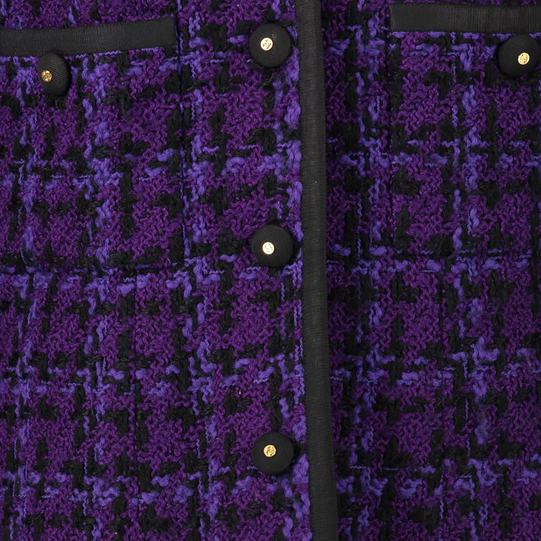 Koop veilig online aan de beste prijs paarse chanel boutique tailleur webshop Labellov Antwerpen, België
