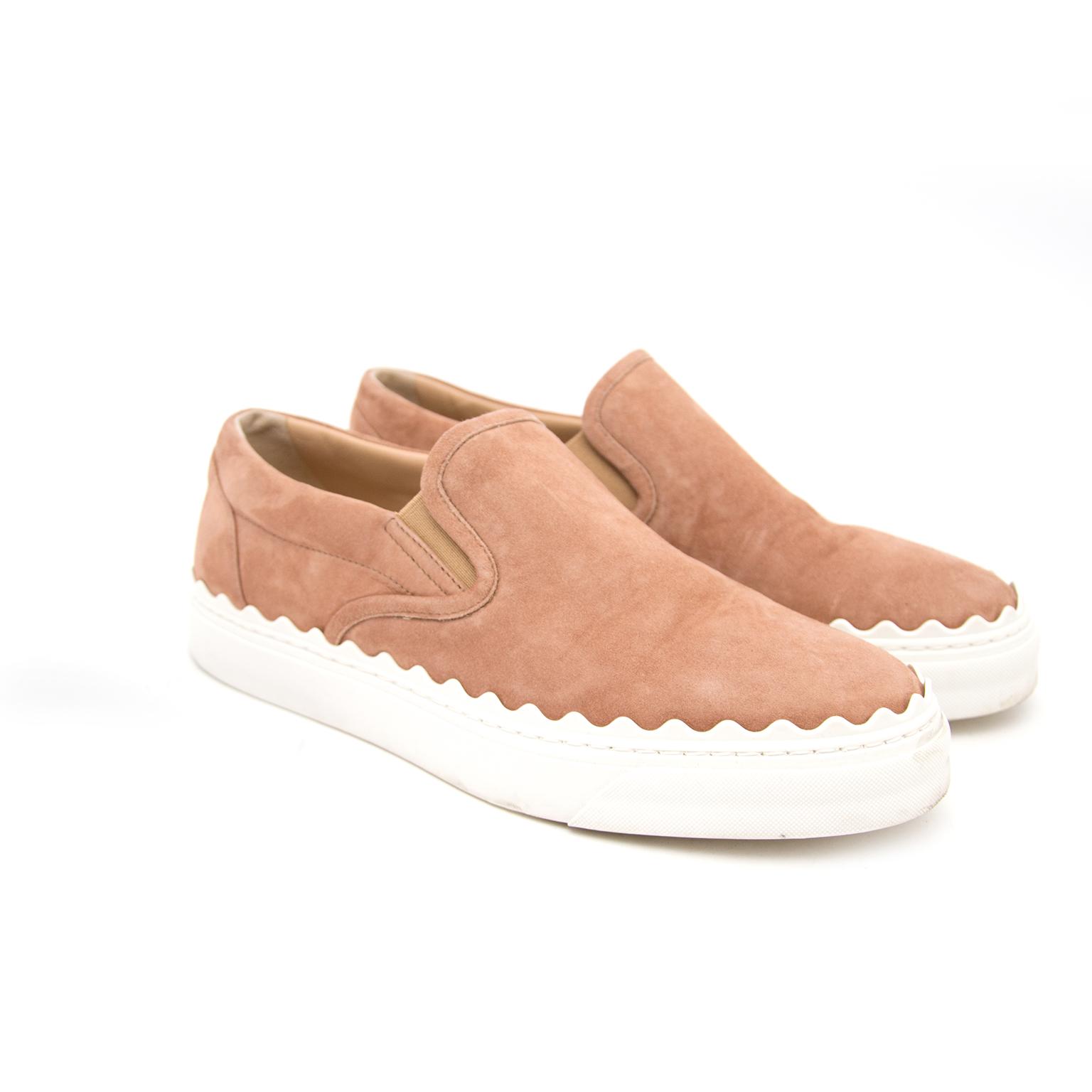 Chloe Desert Rose Slip On Sneakers kopen aan de beste prijs
