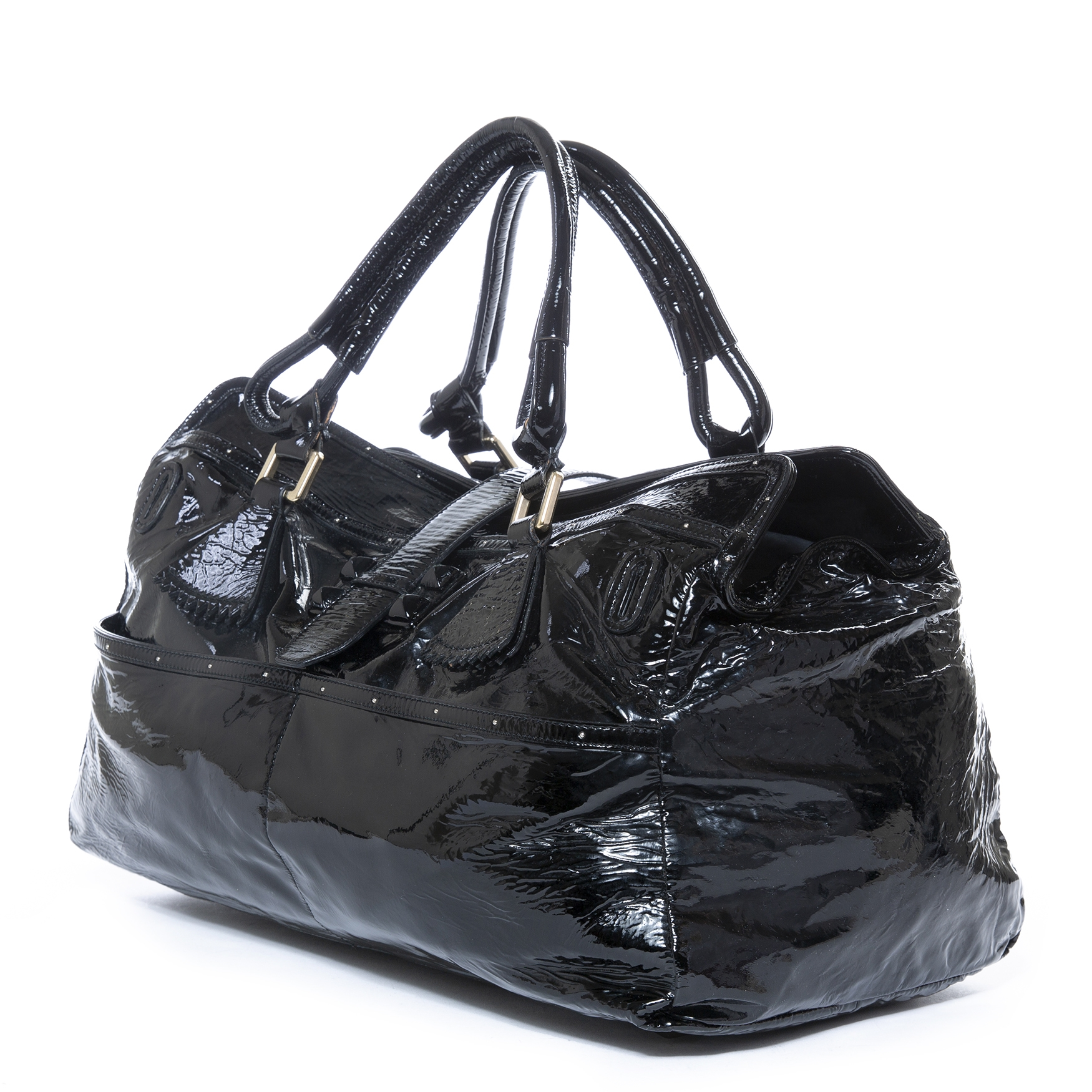 buy Chloé Black Patent Shopper and pay online at labellov.com
