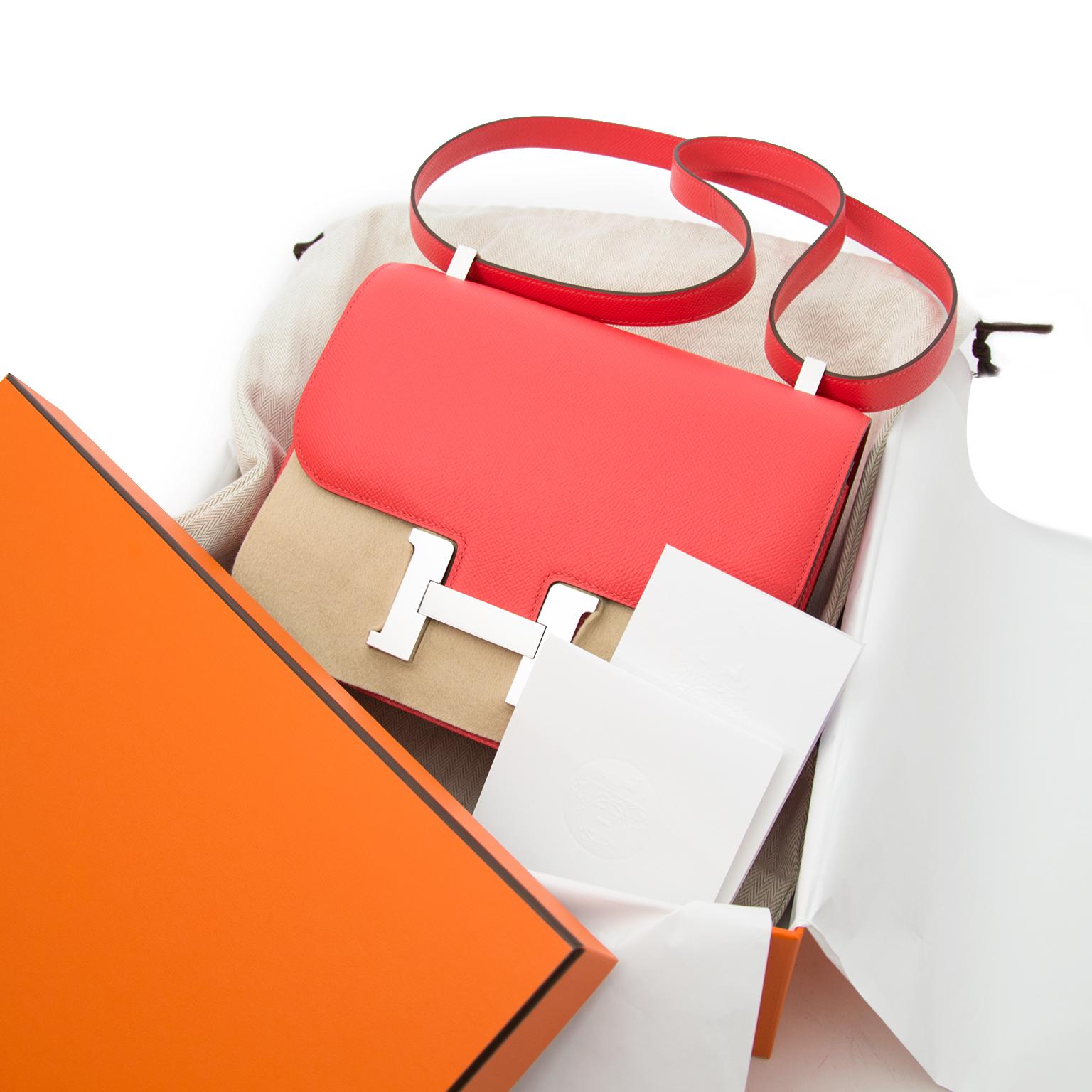 Buy safe and secure online at labellov.com for the best price hermes constance 24 epsom rose jaipur