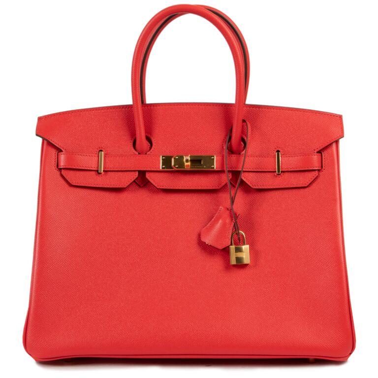 *Never Used* Hermès Kelly 28 Togo Pourpre PHW