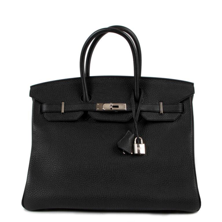 Hermès Birkin 35 Togo Black PHW