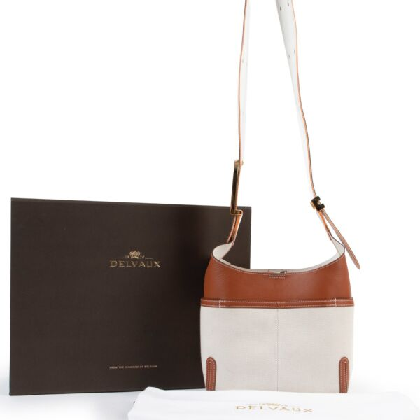 Delvaux Beige So Cool Mini Crossbody Bag
