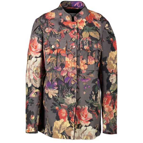 Dries Van Noten Floral Jacket for the best price at Labellov secondhand