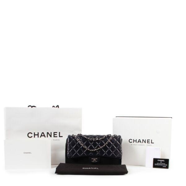 Chanel Blue Classic flap bag