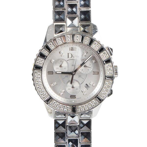Christian Dior Ladies Watch Dior brilliant stones + Christal chronograph